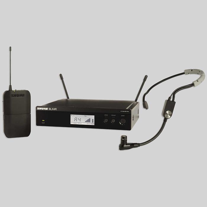 舒尔BLX14R/SM35 头戴式无线话筒